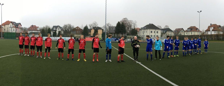 Unentschieden im Auswärts-Spitzenspiel der A-Junioren beim SC Parchim (1:1)