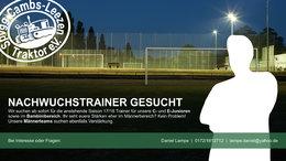 SpVgg Cambs/Leezen sucht Verstärkung im Trainerteam
