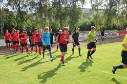 A-Junioren gewinnen Auftaktspiel im Landespokal –A Junioren- Audi Cup